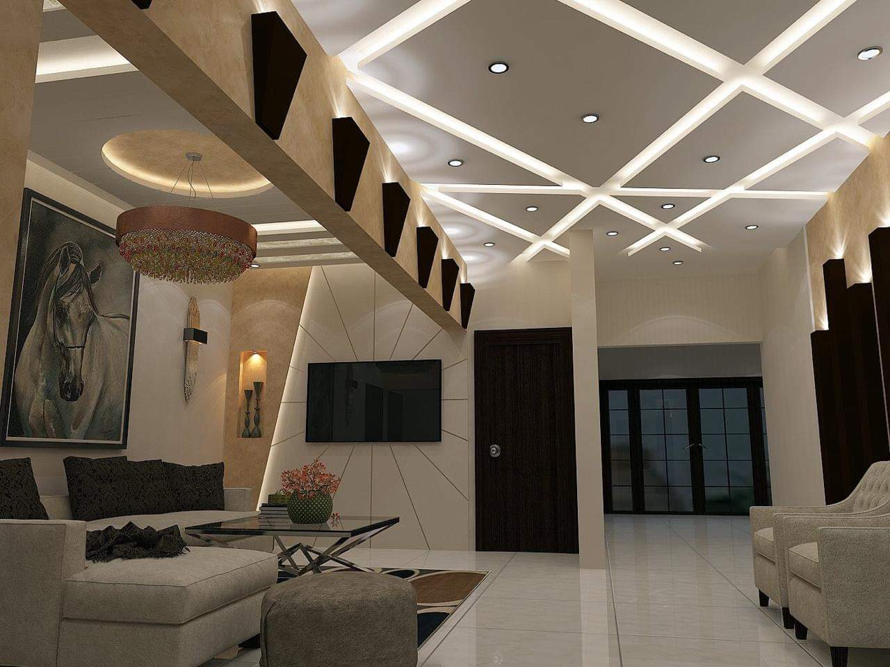False Ceiling Design in Karachi, Pakistan - Grand Interiors