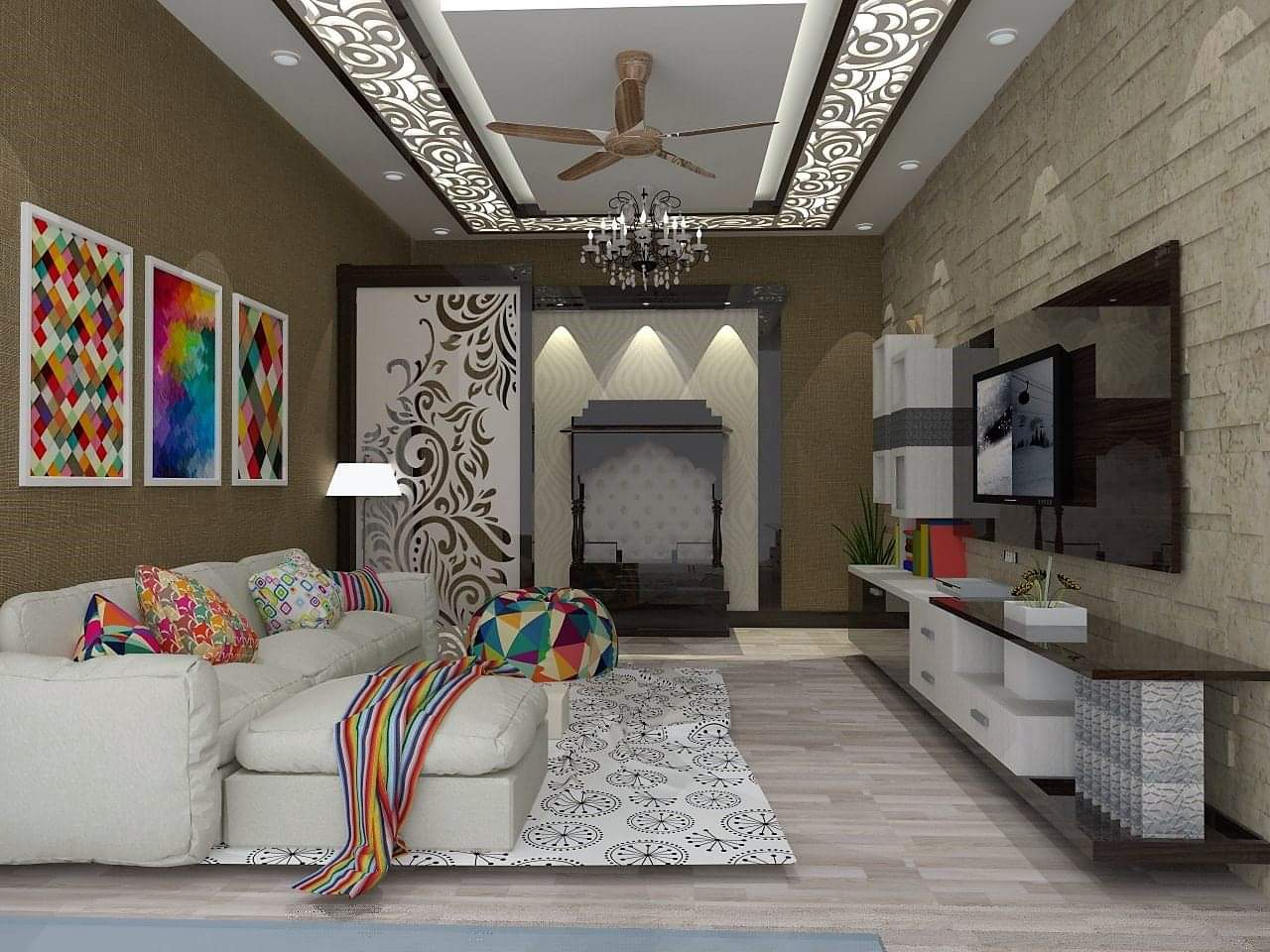False Ceiling Design In Karachi Pakistan Grand Interiors
